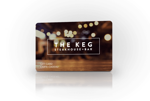 The Keg Steakhouse + Bar gift card
